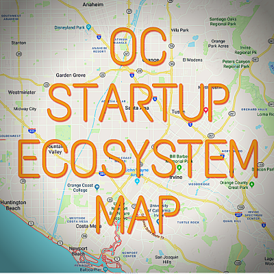 OC Startups Map Ecosystem 400