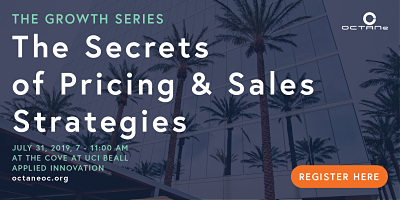 Growth Series Secrets of Pricing and Sales Strategies Irvine