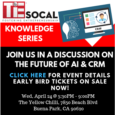 TiE Socal Knowledge Series Buena Park