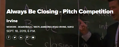 Always Be Closing - Pitch Competition