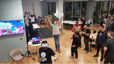 OCVR & Reality Smash Luau Themed VR & Crypto Currency Networking Mixer Costa Mesa