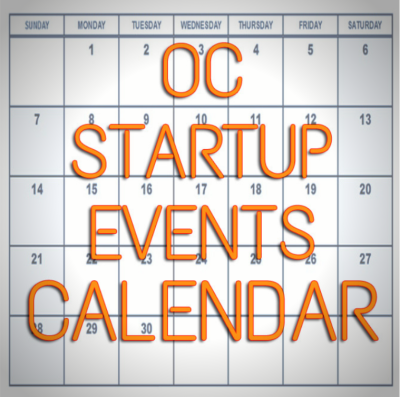 OC STARTUP EVENTS CALENDAR