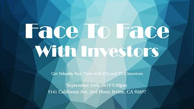 Face to Face with Investors Sept 2019