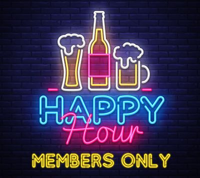 Happy Hour Members Only