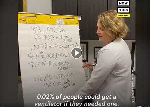 Dr Emily Porter Coronavirus video