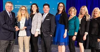 WACE Chamber team on stage