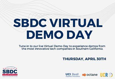 SBDC Virtual Demo Day April 30 2020