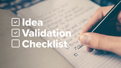 A checklist to help green-light your next idea