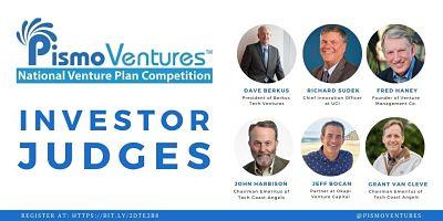 Pismo Ventures' National Venture Plan Competition Investor Judges