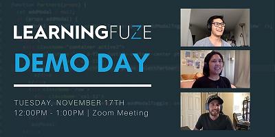 LearningFuze Demo Day via Zoom