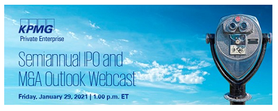 KPMG Semiannual IPO and M&A Outlook Webcast