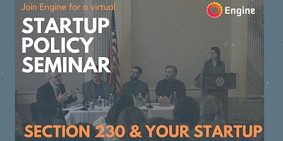 Startup Seminar Section 230 and Your Startup