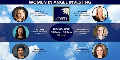 3rd Annual TCA Women In Angel Investing 2020 June 24