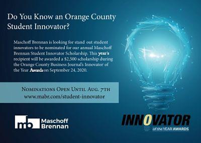 Student Innovator Award 2020