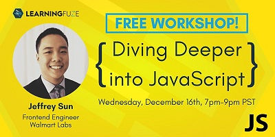 Diving Deeper into JavaScript with Jeffrey Sun