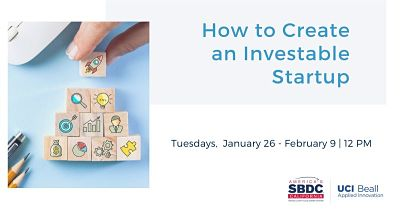 How to Create an Investable Startup