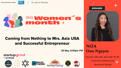 Coming from Nothing to Mrs. Asia USA and Successful Entrepreneur