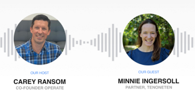 New Operate Podcast with Minnie Ingersoll