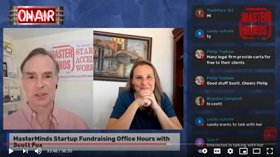 Masterminds Startup Fundraising Office Hours with Scott Fox May 2021