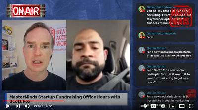 Startup Fundraising Office Hours Free Monthly Livestream for Entrepreneurs
